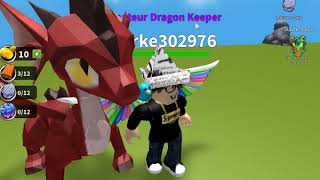 Roblox Dragon-Keeper-Giant Dragon!-part 1