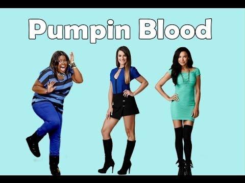 Glee-Pumpin' Blood (Lyrics)