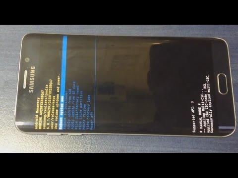 Samsung Galaxy S6 Edge Plus Hard Reset  - Восстановление заводского состояния