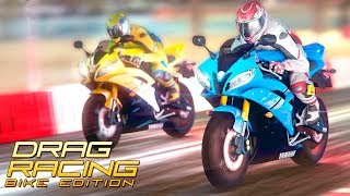 Drag Racing: Bike Edition - Gameplay Android & iOS Game - realistic racing bikes