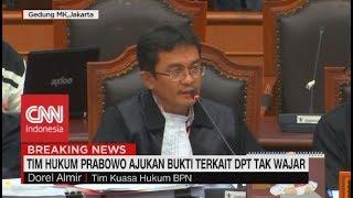 Tim Hukum Prabowo Ajukan Bukti Terkait DPT Tak Wajar