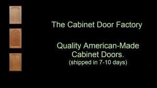 How to Order from The Cabinet Door Factory