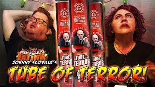 JOHNNY SCOVILLE'S TUBE OF TERROR │13 Million SHU Capsaicin Peanuts