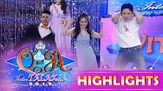 It's Showtime Miss Q & A: Kuya Escort Ion, Ate Girl and Ryan Bang dance showdown