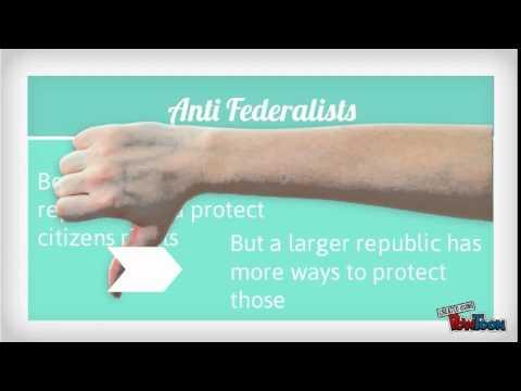 Federalists vs Anti federalists