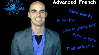 Advanced French class. Free advanced French lesson. Get our advance...