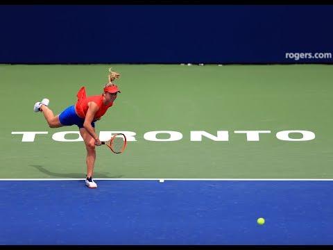 2017 Rogers Cup Quarterfinals   Elina Svitolina vs Garbiñe Muguruza   WTA Highlights