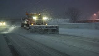 2/20/2014 Twin Cities Metro Area Evening Winter Storm B-Roll