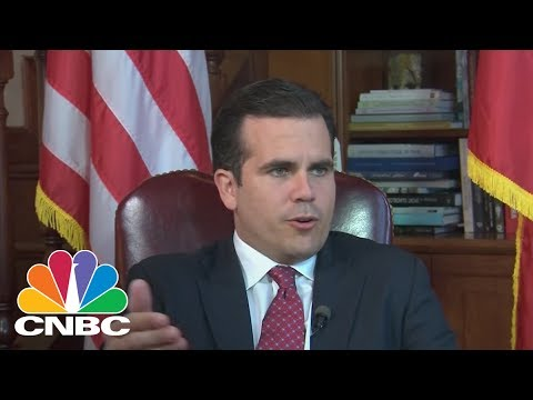 Ricardo Rossello, Governor of Puerto Rico, Talks Push For Statehood | CNBC