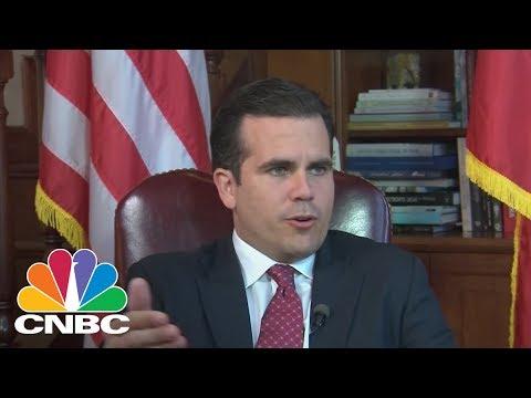 Ricardo Rossello, Governor of Puerto Rico, Talks Push For Statehood | CNBC