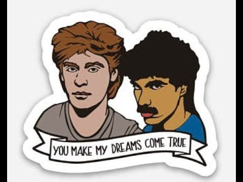 Daryl Hall & John Oates - You Make My Dreams (1 hour)