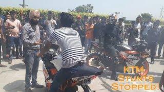 KTM Orange Ride | Delhi NCR  | KTM Duke RC Stunts | Delhiocity