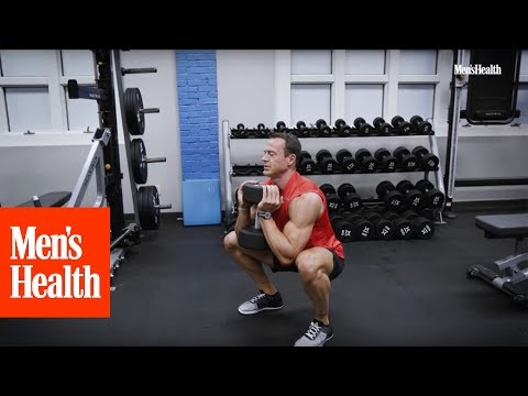 Men's Leg Workout Circuit | Men Fitness for Bigger Stronger Legs