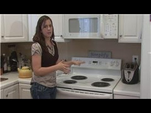Housekeeping Tips How To Clean Electric Stove Tops Youtube