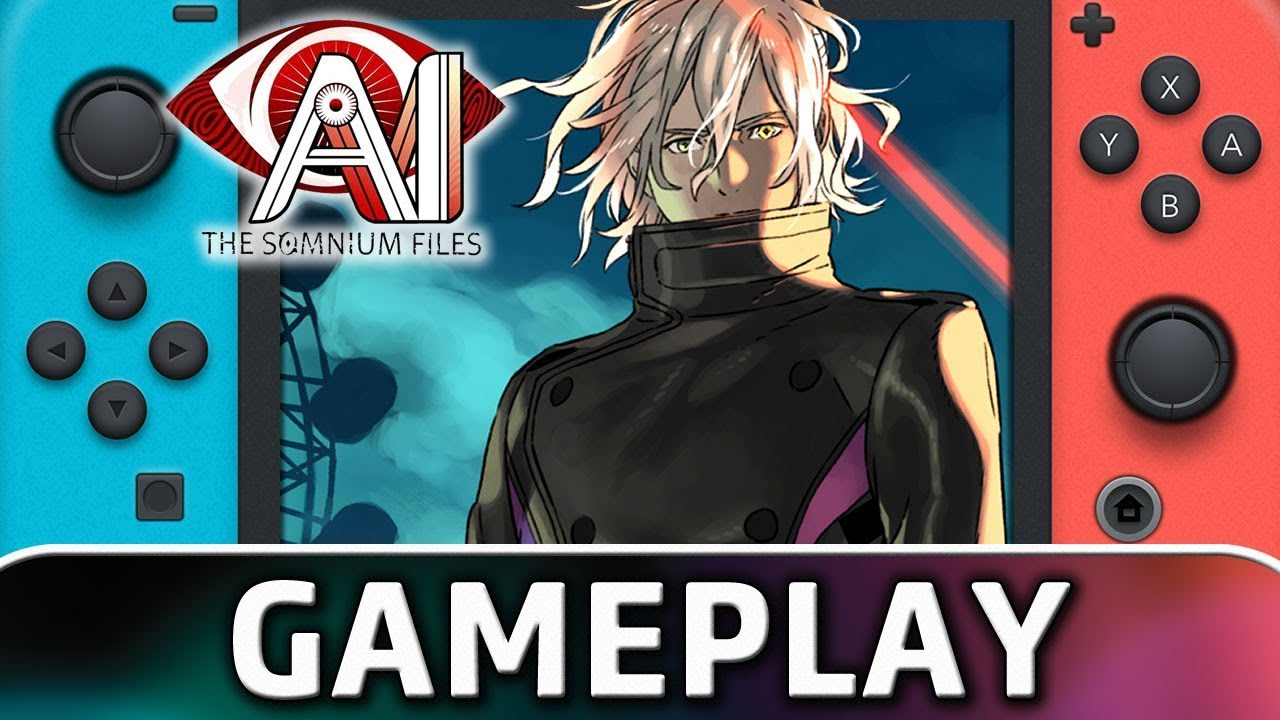 AI: The Somnium Files | First 25 Minutes on Nintendo Switch