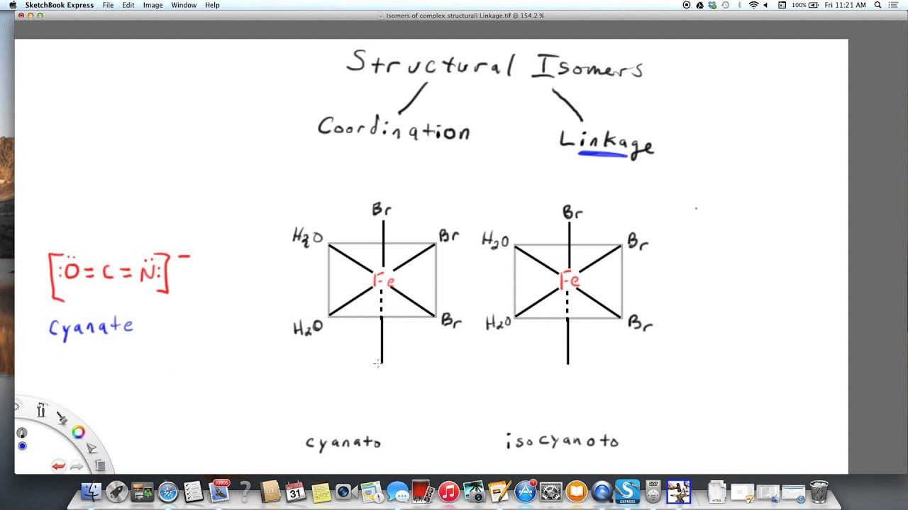 examples of structural isomers