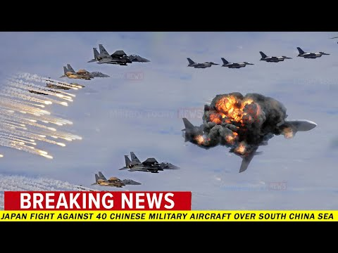 Japan fight against 40 Chinese military aircraft over South China Sea