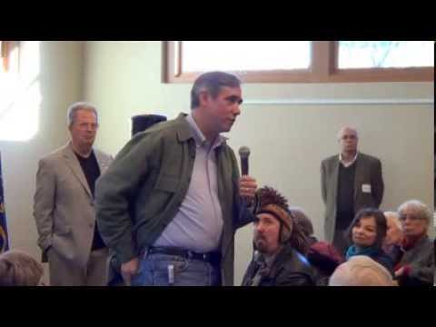 Sen Jeff Merkley town hall, Medford - Jan 5, 2014
