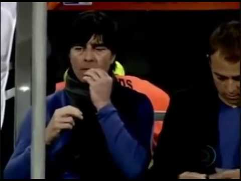 German Soccer Coach Joachim Low Eats His Own Booger