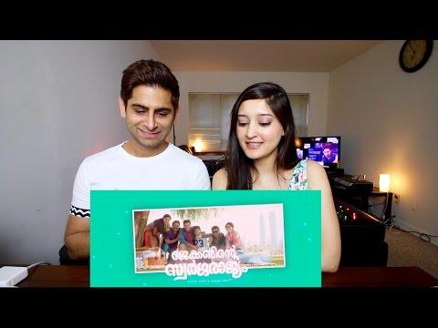 JACOBINTE SWARGARAJYAM Trailer Reaction  - Nivin Pauly - Vineeth Sreenivasan - 2016