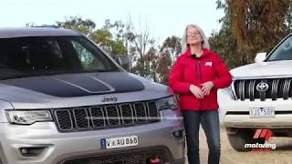 Jeep Grand Cherokee Trailhawk vs Toyota Landcruiser Prado