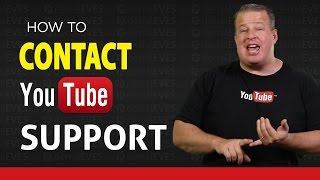 How to Contact YouTube Support - 2016