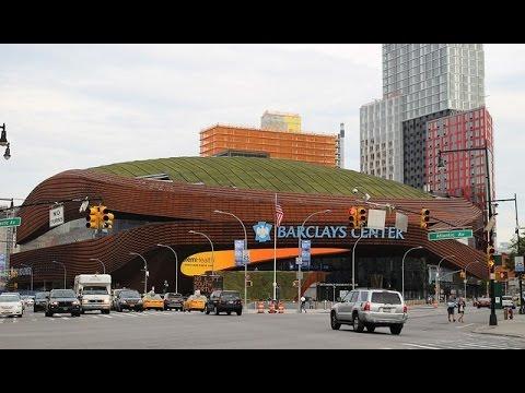 ブルックリンネッツの本拠地 Barclays Center