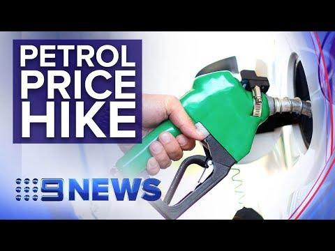 Petrol Prices Skyrocket To Six-month High | Nine News Australia