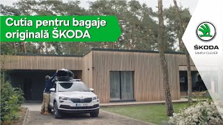 Cutia pentru bagaje originală ŠKODA