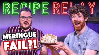 MERINGUE Recipe Relay Challenge (Normals only!!) | Pass It On S2 E21 | SORTEDfood