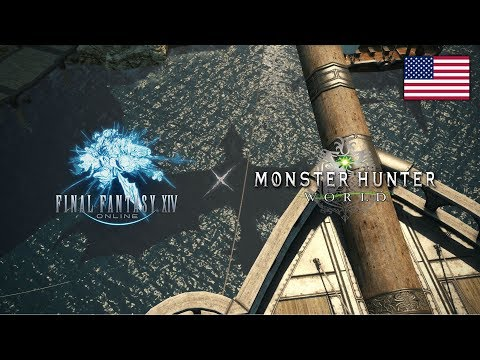FINAL FANTASY XIV x MONSTER HUNTER: WORLD Collaboration Trailer
