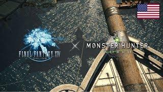 FINAL FANTASY XIV x MONSTER HUNTER: WORLD Collaboration Trailer
