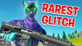 I GOT THE RAREST GLITCH IN FORTNITE...