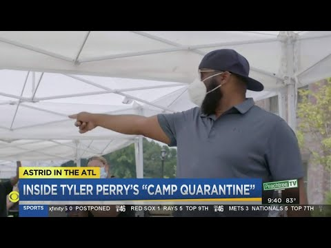 Tyler Perry Studios producing shows during COVID 19