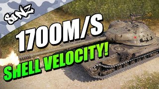 BEST SHELL VELOCITY IN GAME! - World of Tanks Console | K-91 Gameplay