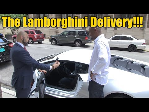 Buying a Lamborghini Huracan - Pick Up & Delivery Behind the Scenes!!!