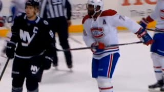 PK Subban and John Tavares Battle Throughout Shift