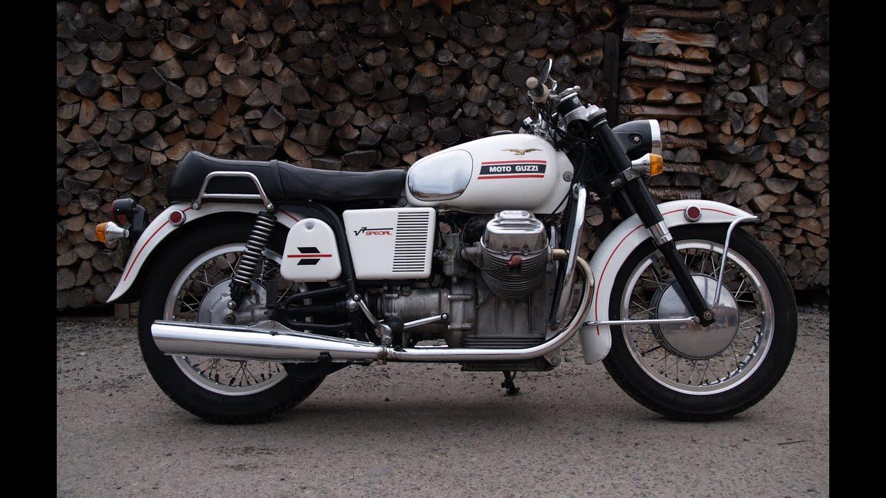 1970 moto guzzi v7 special - youtube
