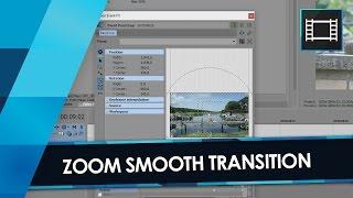 Tutorial VEGAS PRO 14: SMOOTH TRANSITION Zoom