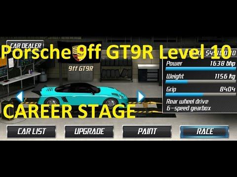 Drag Racing Porsche 9ff GT9-R Career Stage 10