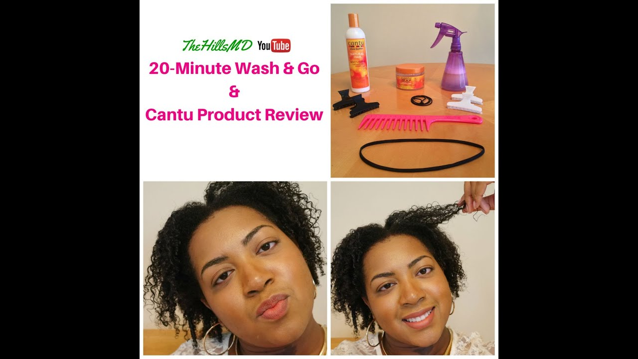 Easy 20 Minute Wash Amp Go Ft Cantu Curl Activator And