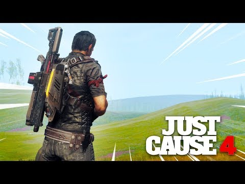 Just Cause 4 - OUTSIDE THE MAP GLITCH!