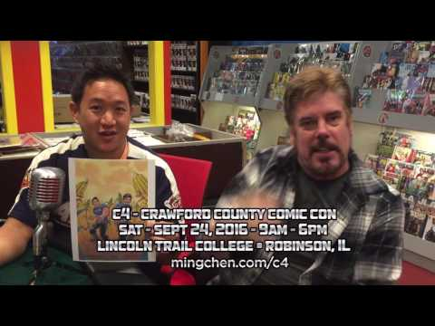 Ming & Mike at the Crawford County Comic Con