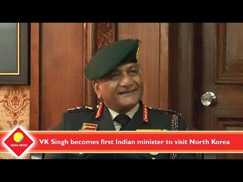 VK Singh becomes first Indian minister to visit North Korea
