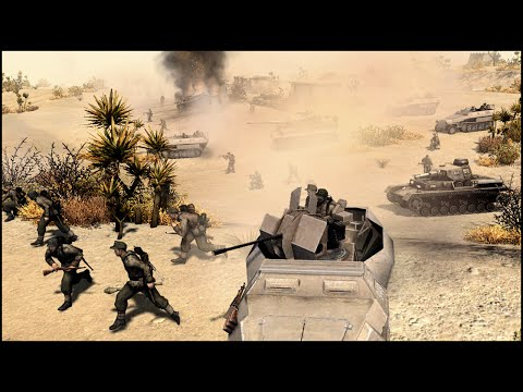 THE AFRIKA KORPS STRIKES BACK - RobZ Realism Mod Gameplay