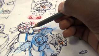 Speed drawing the Nova Squad of Pokemon Mystery Dungeon part 2