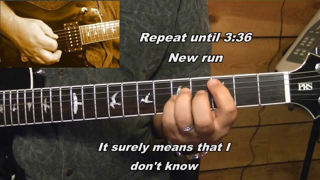 Kansas Carry On My Wayward Son Lyrics Chords Youtube