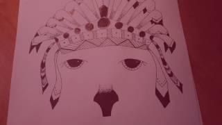 ЗЕНАРТ-УРОК #2 ||Пёс Индеец|| ЗЕНТАНГЛ