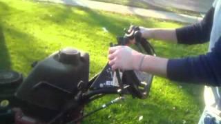 Walk Behind Mower How to Drive