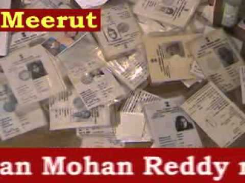daylight murder in ghaziabad & fake voter id gang in meerut